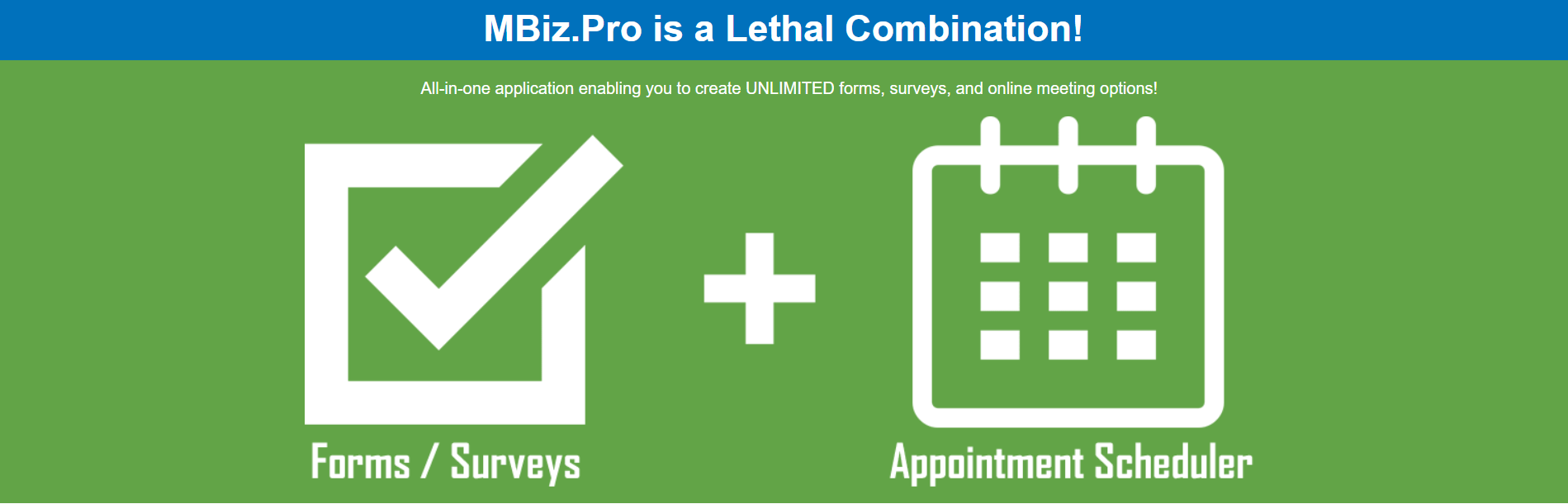MBiz.Pro is a Legal Combination